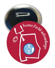 Kappa Kappa Gamma Alabama Homefield Advantage Gameday Button