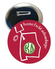 Kappa Delta Alabama Homefield Advantage Gameday Button