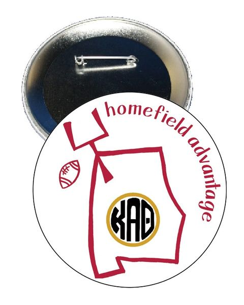 Kappa Alpha Theta Alabama Homefield Advantage Gameday Button