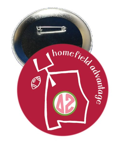 Delta Zeta Alabama Homefield Advantage Gameday Button