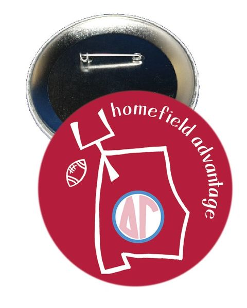 Delta Gamma Alabama Homefield Advantage Gameday Button