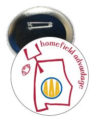 Delta Delta Delta Alabama Homefield Advantage Gameday Button