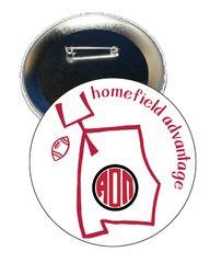Alpha Omicron Pi Alabama Homefield Advantage Gameday Button