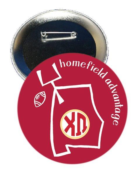 Chi Omega Alabama Homefield Advantage Gameday Button
