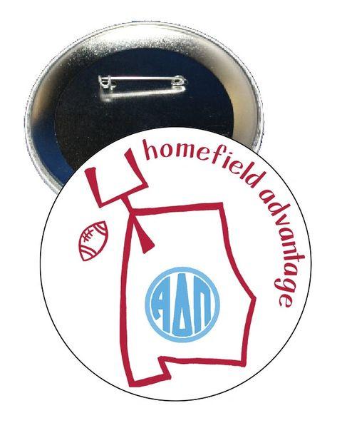 Alpha Delta Pi Alabama Homefield Advantage Gameday Button