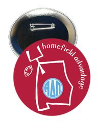Alpha Delta Pi Alabama Homefield Advantage Gameday Button