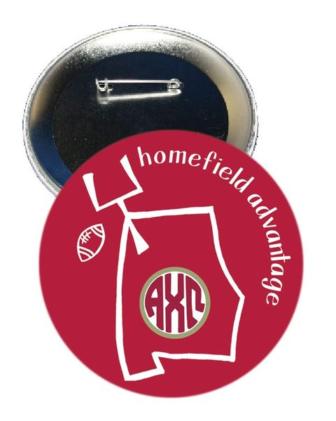 Alpha Chi Omega Alabama Homefield Advantage Gameday Button