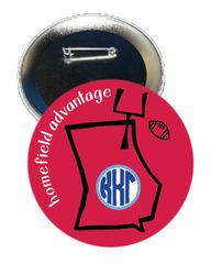 Kappa Kappa Gamma Georgia Homefield Advantage Gameday Button