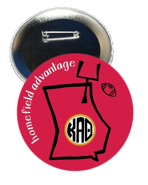 Kappa Alpha Theta Georgia Homefield Advantage Gameday Button