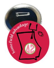 Delta Zeta Georgia Homefield Advantage Gameday Button