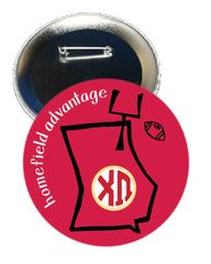 Chi Omega Georgia Homefield Advantage Gameday Button