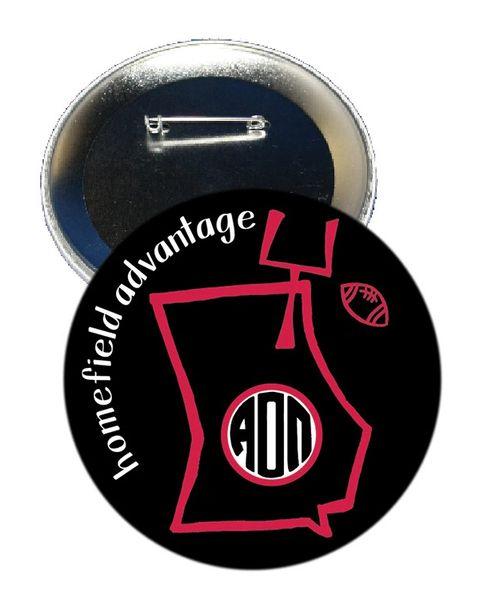 Alpha Omicron Pi Georgia Homefield Advantage Gameday Button