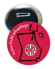 Alpha Chi Omega Georgia Homefield Advantage Gameday Button