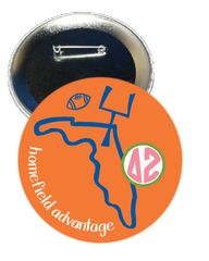 Delta Zeta Florida Homefield Advantage Gameday Button