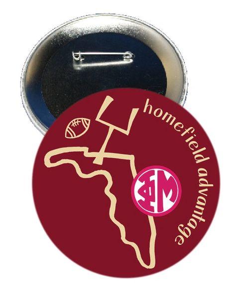 Phi Mu FSU Homefield Advantage Gameday Button