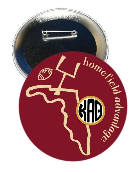 Kappa Alpha Theta FSU Homefield Advantage Gameday Button