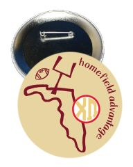 Chi Omega FSU Homefield Advantage Gameday Button