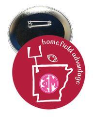 Phi Mu Arkansas Homefield Advantage Gameday Button