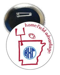 Kappa Kappa Gamma Arkansas Homefield Advantage Gameday Button