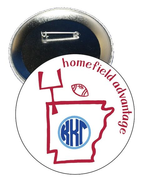 Kappa Kappa Gamma Arkansas Homefield Advantage Gameday Button
