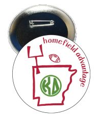 Kappa Delta Arkansas Homefield Advantage Gameday Button