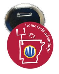 Delta Delta Delta Arkansas Homefield Advantage Gameday Button