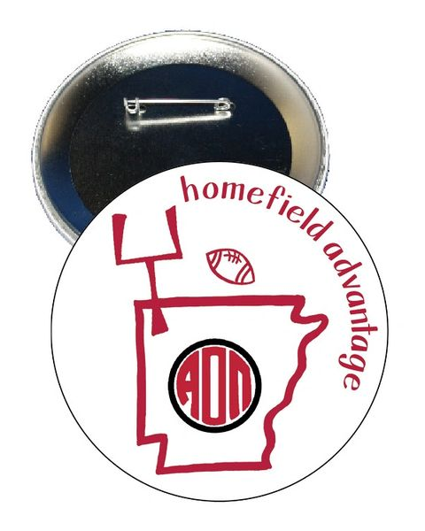 Alpha Omicron Pi Arkansas Homefield Advantage Gameday Button