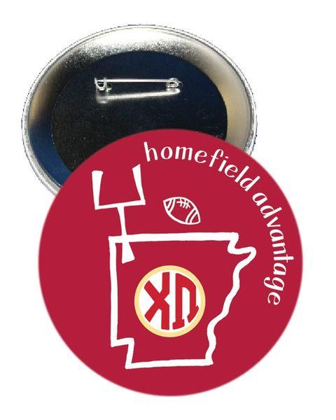 Chi Omega Arkansas Homefield Advantage Gameday Button