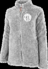 Zeta Tau Alpha Fluffy Fleece Jacket