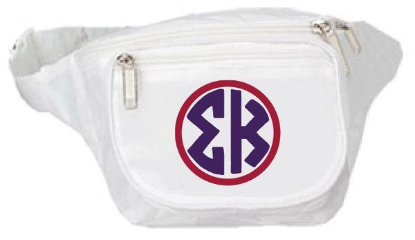 Sigma Kappa Monogram Fanny Pack