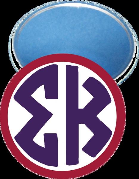 Sigma Kappa Monogram Red Mirror