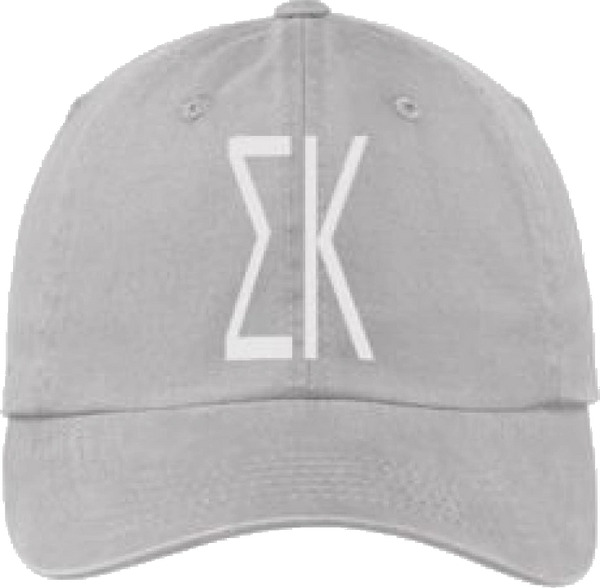 Sigma Kappa Gray Ball Cap