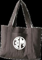 Phi Mu Monogram Canvas Tote Bag