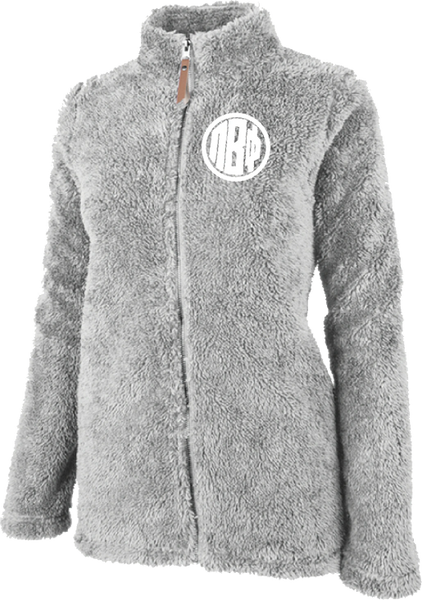 Pi Beta Phi Fluffy Fleece Jacket