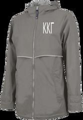 Kappa Kappa Gamma Letters Rain Jacket