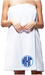 Kappa Kappa Gamma Monogram Towel Wrap
