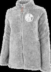 Kappa Kappa Gamma Fluffy Fleece Jacket