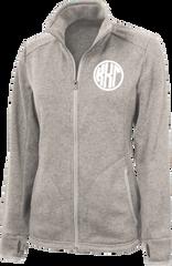 Kappa Kappa Gamma Monogram Heathered Fleece Jacket