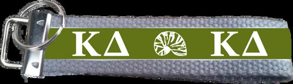Kappa Delta Logo Key Fob