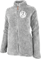 Kappa Delta Fluffy Fleece Jacket