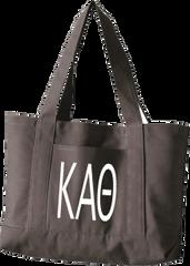 Kappa Alpha Theta Letters Canvas Tote Bag