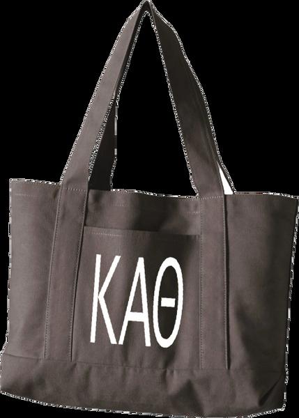 Kappa Alpha Theta Canvas Tote Bag