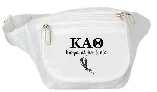 Kappa Alpha Theta Logo Fanny Pack