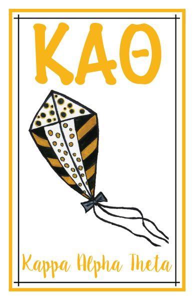 Kappa Alpha Theta Logo Poster