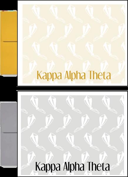 Kappa Alpha Theta Sorority Postcards