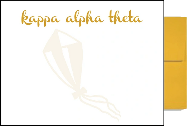 Kappa Alpha Theta Background Postcards