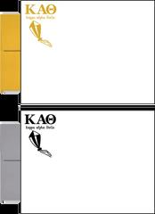 Kappa Alpha Theta Letter Postcards