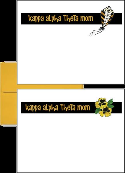 Kappa Alpha Theta Mom Logo Postcards