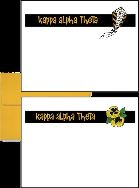 Kappa Alpha Theta Logo Postcards