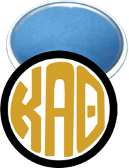 Kappa Alpha Theta Monogram Black Mirror
